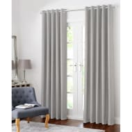 Colorado Hopsack Fully Lined Eyelet Curtain 66 x 72""