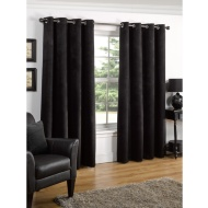 Valencia Textured Premium Blackout Eyelet Curtain 90 x 90