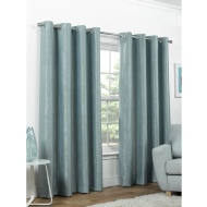 Valencia Textured Premium Blackout Eyelet Curtain 46 x 54