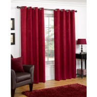 Valencia Textured Premium Blackout Eyelet Curtain 46 x 72