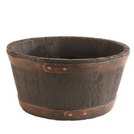 Oakwood Barrel Planter 50cm