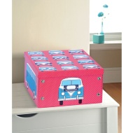 Bright Paper Storage Box Large - Camper Van