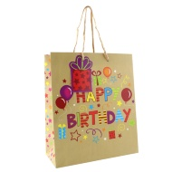 Everyday Gift Bags Medium 3pk - Happy Birthday