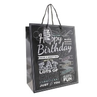 Everyday Gift Bags Large 2pk - Happy Birthday