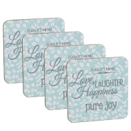 Coasters 4pk - Today's Menu