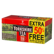 Yorkshire Tea One Cup 160+50%