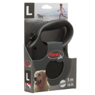 Flexi Dog Lead - Large - Black
