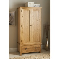 Wiltshire Oak Double Wardrobe