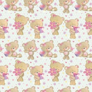 Kids Everyday Wrapping Paper - Millie Bear - 3m