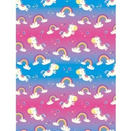Kids Everyday Wrapping Paper - Unicorn - 3m
