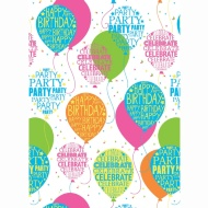 Kids Everyday Wrapping Paper - Balloons - 3m