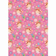Kids Everyday Wrapping Paper - Fairies - 3m