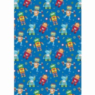 Kids Everyday Wrapping Paper - Robots - 3m