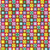 Everyday Wrapping Paper - Happy Birthday - 3m