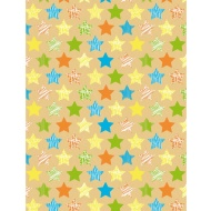 Everyday Wrapping Paper - Stars - 3m