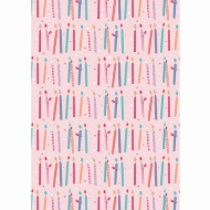 Everyday Wrapping Paper - Candles - 3m