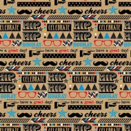 Trend Everyday Wrapping Paper - Fun Script - 3m