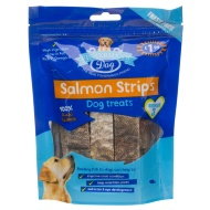 Fishermans Dog Salmon Strips Dog Treats 120g