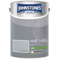 Johnstone's Paint Vinyl Silk Emulsion - Manhattan Grey 5L