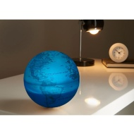 Revolving Light Up Globe - Blue