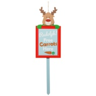 Christmas Outdoor Stake - Rudolph
