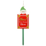 Christmas Outdoor Stake - Elf