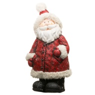 Giant Woolly Hat Santa - Red