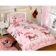 Christmas Single Duvet Cover - Christmas Sparkle