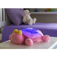 Animal Star Bedroom Projector - Pink Turtle