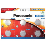 Panasonic Coin Battery 6pk