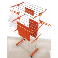 Beldray Deluxe 3 Tier Upright Airer with Wheels