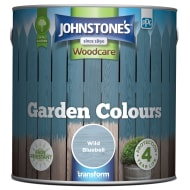 Johnstone's Paint Woodcare Garden Colours - Wild Bluebell 2.5L