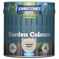 Johnstone's Paint Woodcare Garden Colours - Calming Stone 2.5L