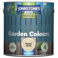 Johnstone's Paint Woodcare Garden Colours - Natural Vanilla 2.5L