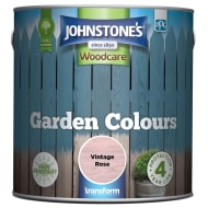 Johnstone's Paint Woodcare Garden Colours - Vintage Rose 2.5L