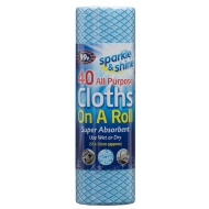 All Purpose Cloths on a Roll 40pk