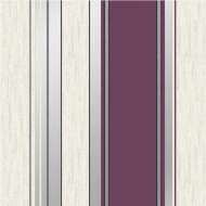 Vymura Synergy Stripe Wallpaper - Plum