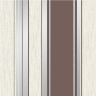 Vymura Synergy Stripe Wallpaper - Chocolate