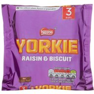 Nestle Yorkie Biscuits 3pk - Raisin & Biscuit