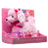Penelope the Poodle Walking Dog - Pink