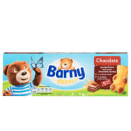 Barney Chocolate Sponge Bears 5pk