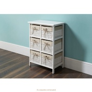 Juliet 6 Drawer Unit