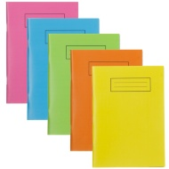 A5 Exercise Book Bright