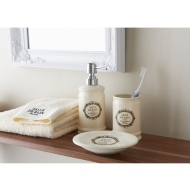 Salle de Bain Bathroom Set 3pc