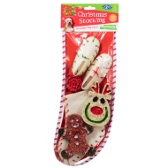 Christmas Stocking Dog Chew Set