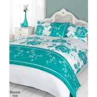 Floral Bed in a Bag - King Size - Bloom Teal