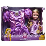 Disney Princess Doll & Toddler Dress Gift Set - Rapunzel