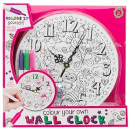Colour Your Own Clock Kit