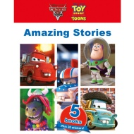 Disney Slipcase Book & CD Collection - Cars & Toy Story Toons