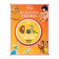 Disney Slipcase Book & CD Collection - My Favourite Friends